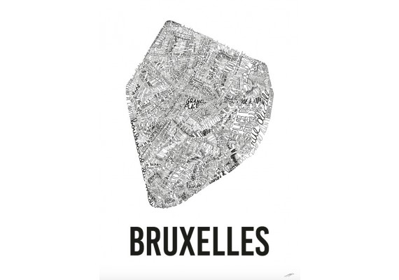 Poster Bruxelles