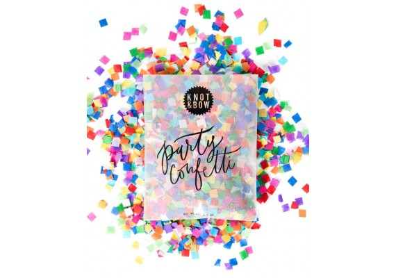 Party confetti in a bag