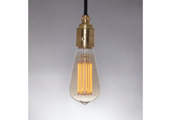 Squirrel cage LED lamp