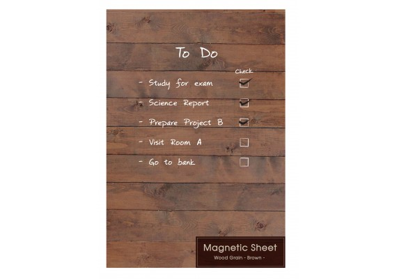 Magnetic note sheet