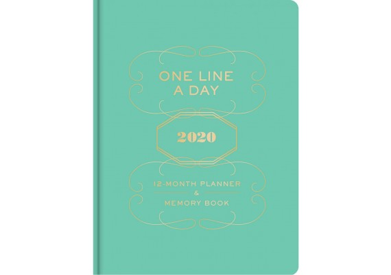 One line a day 2020 planner