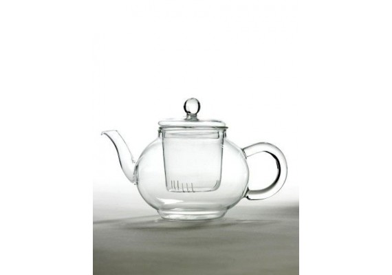 Glass teapot for 2