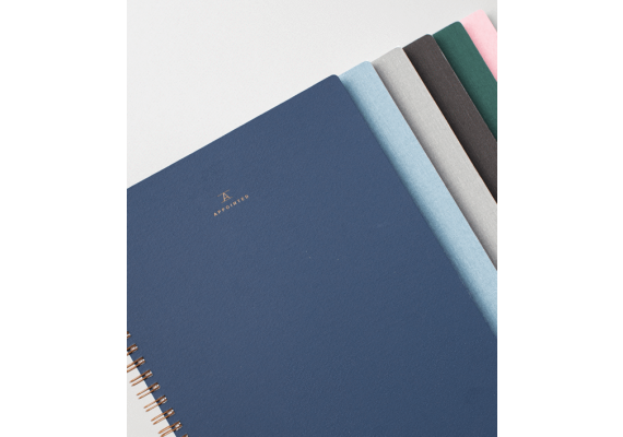 Appointed ringed notebook