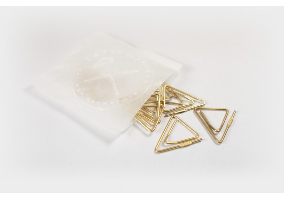 Brass paperclips