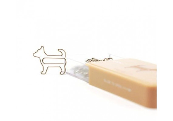 Dog paperclips