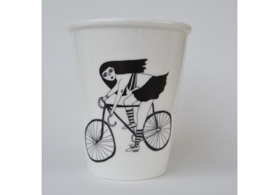 Fixie girl cup