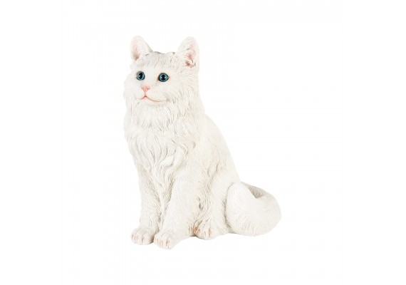 White cat coinbank