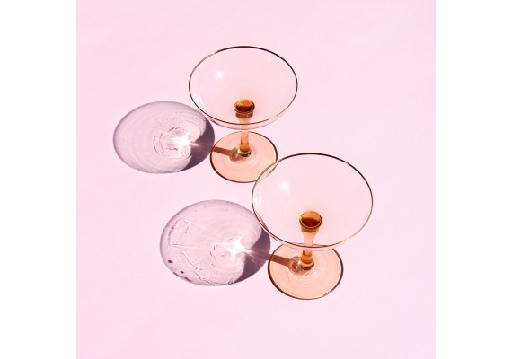 Champagne coupe gold