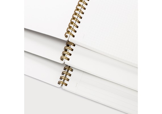 Ringed notebook