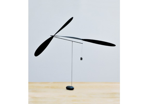 Two propeller mobile – Black ink series