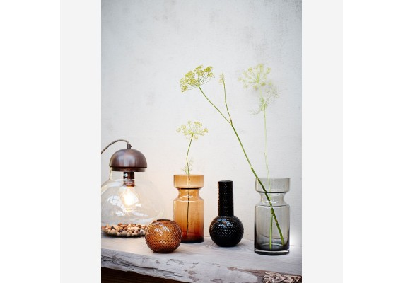 Table lamp bell jar