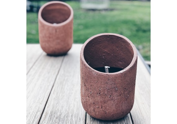 Outdoor candle Sand