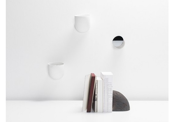Porcelain wall organizer DUCT