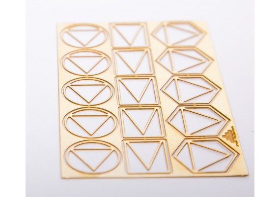 Geometric paperclips