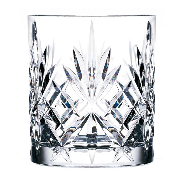 Old fashioned whisky glas