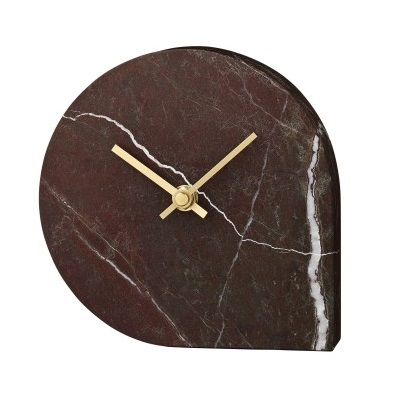 Stilla marble clock